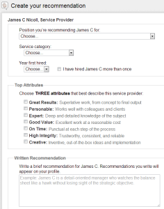 JimNicoll-LinkedIn-CreateRecommendation