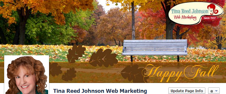 Tina Reed Johnson Facebook Page Cover